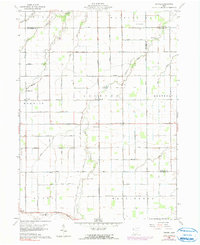 Download a high-resolution, GPS-compatible USGS topo map for Wetsel, OH (1991 edition)