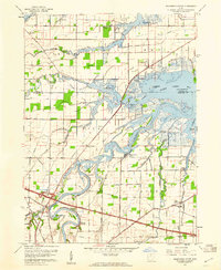 Download a high-resolution, GPS-compatible USGS topo map for Wightmans Grove, OH (1960 edition)