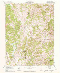 Download a high-resolution, GPS-compatible USGS topo map for Wilkesville, OH (1972 edition)