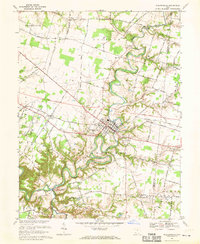 Download a high-resolution, GPS-compatible USGS topo map for Williamsburg, OH (1970 edition)