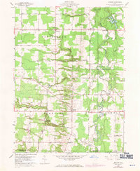 Download a high-resolution, GPS-compatible USGS topo map for Windsor, OH (1971 edition)