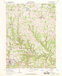 Download a high-resolution, GPS-compatible USGS topo map for Woodsfield, OH (1970 edition)