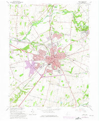 Download a high-resolution, GPS-compatible USGS topo map for Xenia, OH (1975 edition)