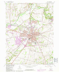 Download a high-resolution, GPS-compatible USGS topo map for Xenia, OH (1988 edition)