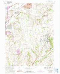 Download a high-resolution, GPS-compatible USGS topo map for Yellow Springs, OH (1991 edition)