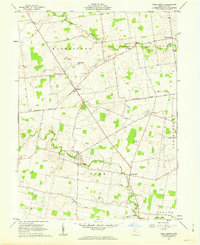 Download a high-resolution, GPS-compatible USGS topo map for York Center, OH (1963 edition)