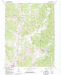 Download a high-resolution, GPS-compatible USGS topo map for Zaleski, OH (1995 edition)