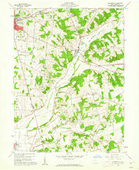 Download a high-resolution, GPS-compatible USGS topo map for Zanesfield, OH (1962 edition)