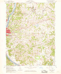 Download a high-resolution, GPS-compatible USGS topo map for Zanesville East, OH (1969 edition)