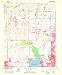 Download a high-resolution, GPS-compatible USGS topo map for Bethany, OK (1976 edition)