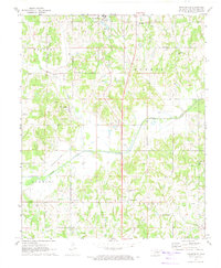 Download a high-resolution, GPS-compatible USGS topo map for Brooksville, OK (1974 edition)