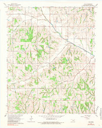 Download a high-resolution, GPS-compatible USGS topo map for Cole, OK (1984 edition)