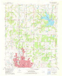 Download a high-resolution, GPS-compatible USGS topo map for Duncan North, OK (1982 edition)