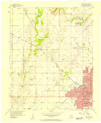 Download a high-resolution, GPS-compatible USGS topo map for Enid West, OK (1957 edition)