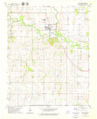 Download a high-resolution, GPS-compatible USGS topo map for Fort Cobb, OK (1979 edition)