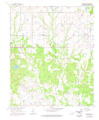 Download a high-resolution, GPS-compatible USGS topo map for Harrisburg, OK (1977 edition)
