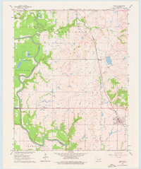 Download a high-resolution, GPS-compatible USGS topo map for Inola, OK (1976 edition)