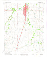 Download a high-resolution, GPS-compatible USGS topo map for Kingfisher, OK (1974 edition)