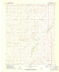 Download a high-resolution, GPS-compatible USGS topo map for Laverne SW, OK (1973 edition)