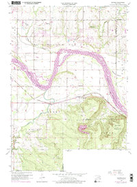 Download a high-resolution, GPS-compatible USGS topo map for Leonard, OK (1975 edition)