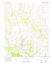 Download a high-resolution, GPS-compatible USGS topo map for Mill Creek, OK (1978 edition)