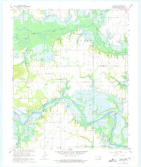 Download a high-resolution, GPS-compatible USGS topo map for Pierce, OK (1975 edition)