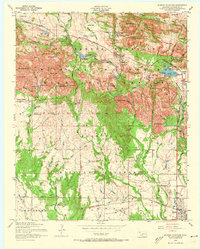 Download a high-resolution, GPS-compatible USGS topo map for Quanah Mountain, OK (1973 edition)