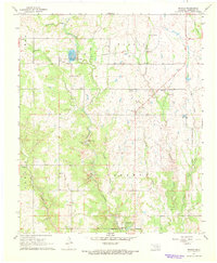 Download a high-resolution, GPS-compatible USGS topo map for Reagan, OK (1968 edition)