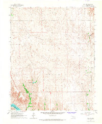 Download a high-resolution, GPS-compatible USGS topo map for Roll NW, OK (1967 edition)