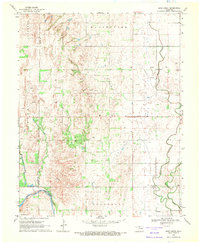 Download a high-resolution, GPS-compatible USGS topo map for Sand Creek, OK (1971 edition)