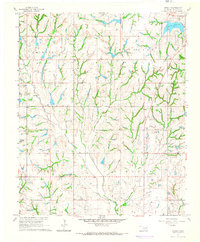 Download a high-resolution, GPS-compatible USGS topo map for Stealy, OK (1966 edition)