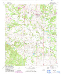 Download a high-resolution, GPS-compatible USGS topo map for Tupelo, OK (1993 edition)