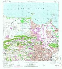 USGS 120000scale Quadrangle for Bayamon PR 1969 ScienceBaseCatalog