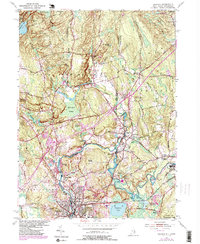 Download a high-resolution, GPS-compatible USGS topo map for Ashaway, RI (1985 edition)