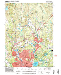 Download a high-resolution, GPS-compatible USGS topo map for Ashaway, RI (2003 edition)