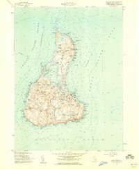 Download a high-resolution, GPS-compatible USGS topo map for Block Island, RI (1959 edition)