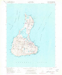 Download a high-resolution, GPS-compatible USGS topo map for Block Island, RI (1977 edition)