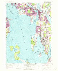 Download a high-resolution, GPS-compatible USGS topo map for Bristol, RI (1973 edition)