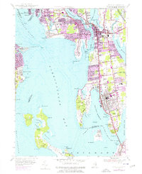 Download a high-resolution, GPS-compatible USGS topo map for Bristol, RI (1976 edition)