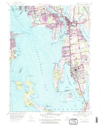 Download a high-resolution, GPS-compatible USGS topo map for Bristol, RI (1983 edition)