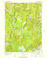 Download a high-resolution, GPS-compatible USGS topo map for Carolina, RI (1957 edition)