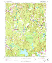 Download a high-resolution, GPS-compatible USGS topo map for Carolina, RI (1972 edition)