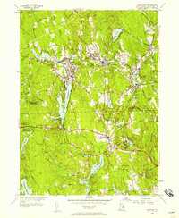 Download a high-resolution, GPS-compatible USGS topo map for Chepachet, RI (1957 edition)