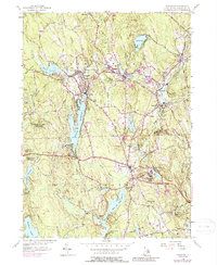 Download a high-resolution, GPS-compatible USGS topo map for Chepachet, RI (1988 edition)