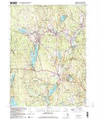 Download a high-resolution, GPS-compatible USGS topo map for Chepachet, RI (2000 edition)