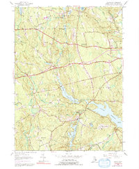 Download a high-resolution, GPS-compatible USGS topo map for Clayville, RI (1991 edition)