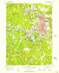 Download a high-resolution, GPS-compatible USGS topo map for Crompton, RI (1957 edition)