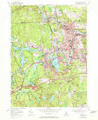 Download a high-resolution, GPS-compatible USGS topo map for Crompton, RI (1972 edition)