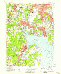 Download a high-resolution, GPS-compatible USGS topo map for East Greenwich, RI (1959 edition)
