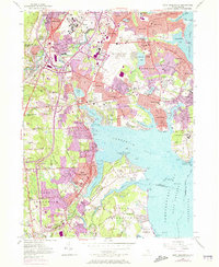 Download a high-resolution, GPS-compatible USGS topo map for East Greenwich, RI (1973 edition)